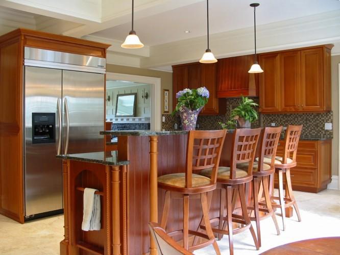 mahogany-kitchen-cabinet