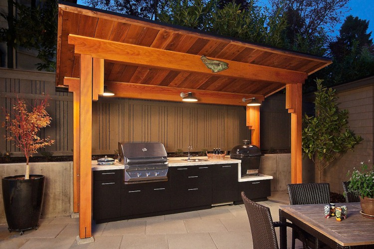 Weekend woodworking projects free shed outdoor kitchen for How much does it cost to build an outdoor kitchen